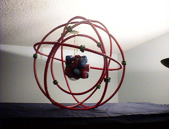 3D Carbon Atom http://wiki.answers.com/Q/How_would_you_make_a_3D_atom_model_of_neon